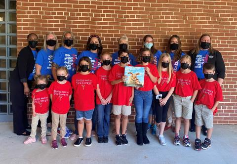 "School Spotlight – Pathways Elementary: Pathways Elementary in Ormond Beach was the School Spotlight for April. The students performed and read the book, ""If You Plant a Seed,"" to celebrate National Arbor Day."