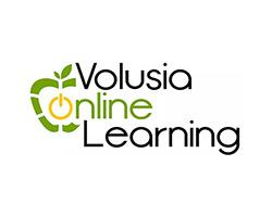Volusia Online Learning Logo